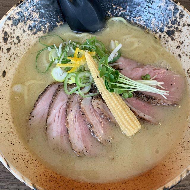 """タケ on Instagram: """"鶏ポタ塩ラーメンここの鶏スープは寒い時にいいですね。#塩ラーメン#帯広ランチ#事後報告"""" (870524)"""