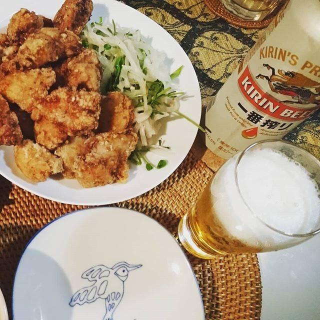 "ARIMA Kotori on Instagram: ""#ザンギ ザンギ ザンギが食べたいーー!!!! と思い続けた(言い続けた)1週間。  もうこれは、面倒くさいけど揚げるしかない…  母親にレシピを確認して、とうとう揚げました。  #から揚げ とは違う、鶏肉食べてる!感。 しっかり肉に味が染みていて、…"" (873556)"