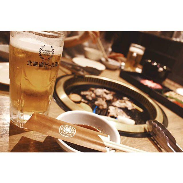 "michelle on Instagram: ""dinner#dinner #beer #genghiskhan #lamb #yummy #food #sapporo #hokkaido #ジンギスカン #北海道ビール園 #札幌グルメ #北海道グルメ"" (873896)"