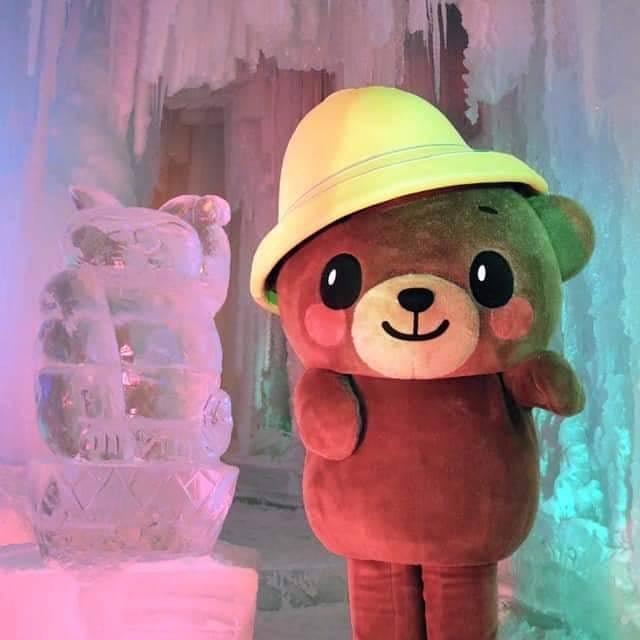 """かみっきー (公認) on Instagram: """"やっぽー♪ ぼく、かみっきー  いよいよ明日23日から層雲峡温泉 氷瀑まつりが始まるぽわん♡ ぼくも行くからみんな遊びに来てぽわ〜る♪ 🐻かみっきー出没情報🔔  1月25日 1月29日 2月2日19時45分〜20時30分ごろ 2月3日 2月4日 2月6日 2月8日 2月9日…"""" (874414)"""