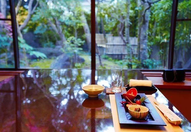 "gren by M's Instagram post: ""雨が似合う日本庭園。やっと来れた臼杵本店の山田屋さん🐡🐡🐡 #大分 #旅 #河豚 #山田屋 #臼杵 #gren #グリン #foodie #traditional #japanese #travel #jewelrydesigner #lifestyle…"" (874938)"