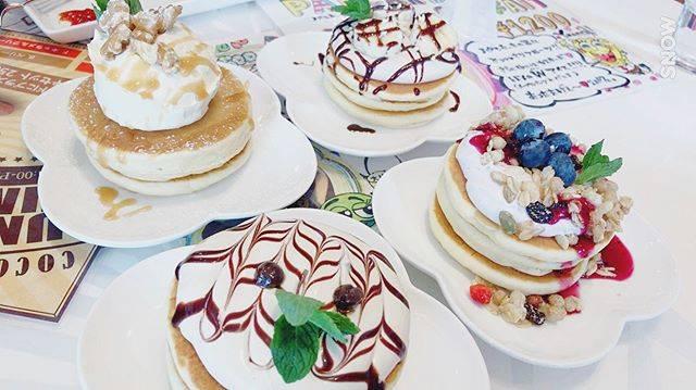 """食べ物記録's Instagram post: """"#旭川カフェ#旭川#ココロコ#cocoloco#パンケーキ"""" (875107)"""