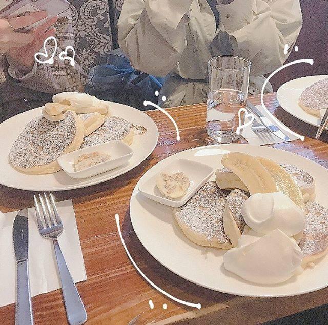 """まいか on Instagram: """"さんにん👩👧👧 #パンケーキ #加工 #girl #eat #cafe #springfashion"""" (875207)"""