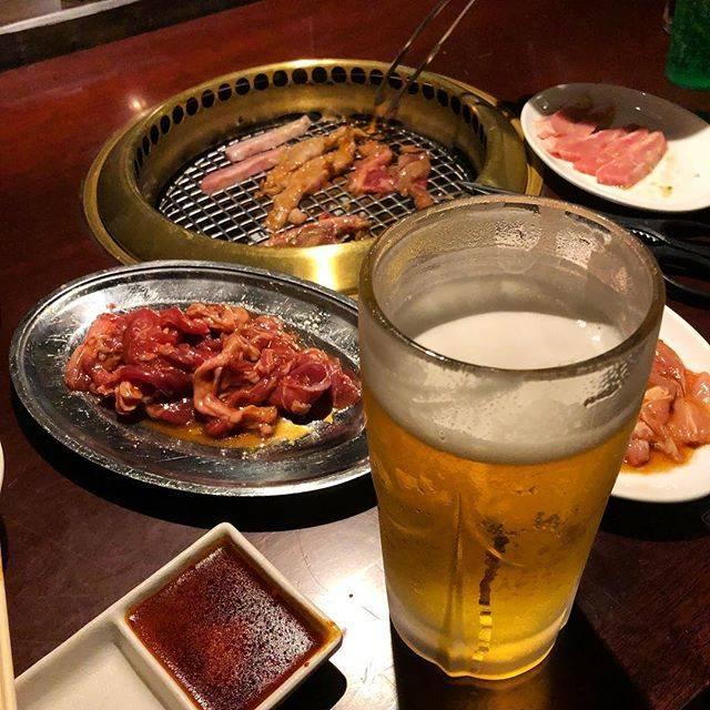 """ミノさん on Instagram: """"無性に肉を食べたくなり、お食事券の期限も迫っていたので昭和の朴然へ。 良く良く考えたらはじめての訪店かも。肉は柔らかくて良いかな、でもタレがちょっぴり薄く感じた。 ちなみにビールは大ジョッキ(๑˃̵ᴗ˂̵) #ひがし北海道 #easthokkaido #くしろ #釧路…"""" (875886)"""