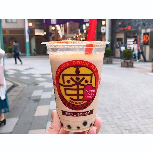 """福岡カフェ&ごはん's Instagram post: """"#タピオカドリンク蜜…"""" (876231)"""