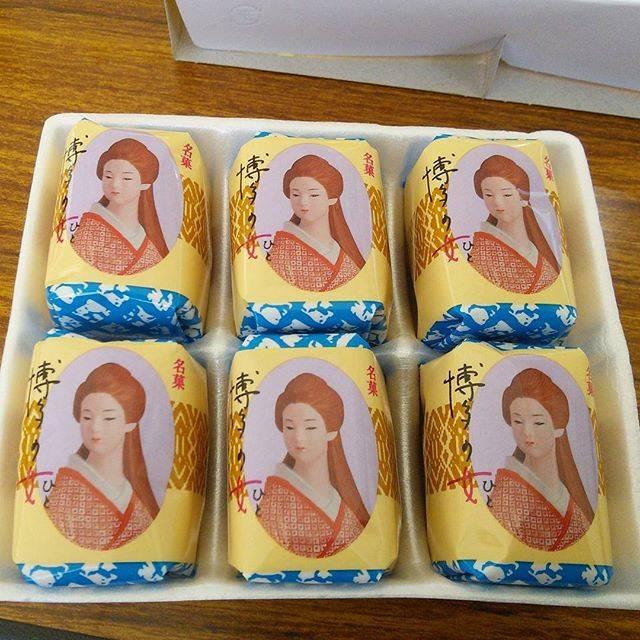 "Shizui Koushi's Instagram post: ""昔、食べたことあって、懐かしさのあまり、ニューデイズで購入。  This is famous souvenir snack of Hakata, Hukuoka, Kyushu, Japan.  Very delicious sweets.  #博多の女 #博多 #福岡 #九州…"" (876788)"