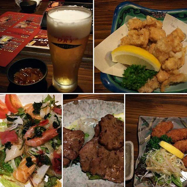 "AYU.カトー on Instagram: ""現地の居酒屋は楽しみの1つのですヽ(*′ω`)ノ。+.゜#食歓場 #居酒屋 #帯広 #ビール"" (878261)"