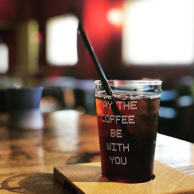 "coto on Instagram: ""久しぶりのマヌコーヒーでした。#薬院カフェ #薬院 #マヌコーヒークジラ店 #マヌコーヒー"" (882144)"