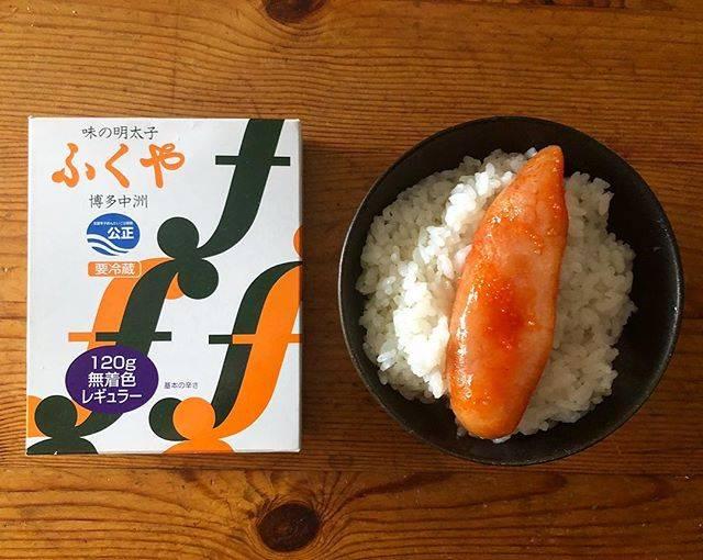 """Pe-ko Shanghai's Instagram photo: """".今日の朝ごはんはいただきものの明太子。..#明太子 #ふくや#ふくや明太子#朝ごはん#今日の朝ごはん#breakfast"""" (882700)"""