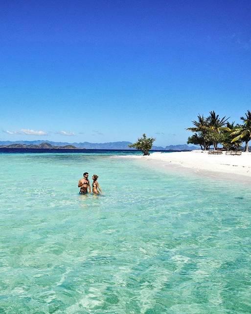 無人島バンブー島 (Bamboo Island)の美しい海
