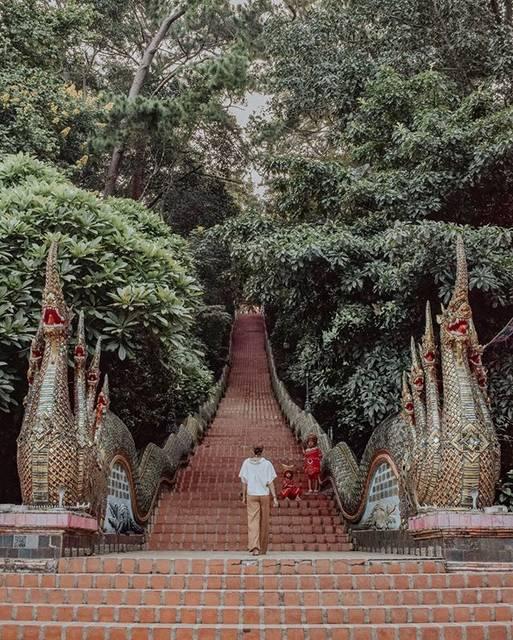 チェンマイの寺院「ワットドイステープ」