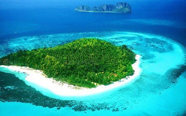 「ピピ島」の中で最も小さな無人島「バンブー島」