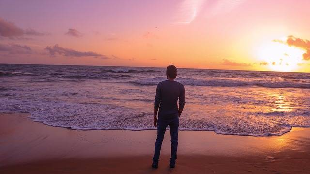 Lonely Boy Sunset Beach People · Free photo on Pixabay (30700)