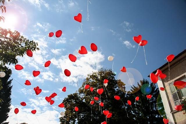 Balloon Heart Romance · Free photo on Pixabay (44137)
