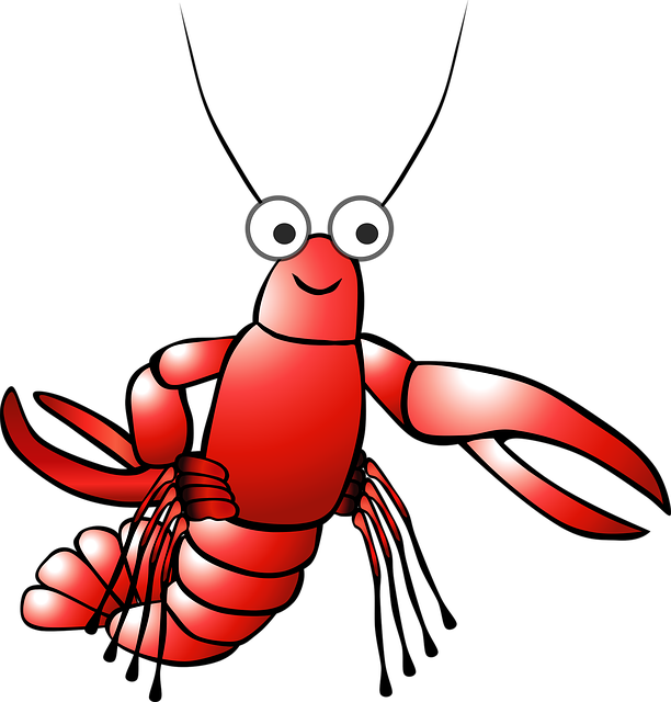 Cartoon Crayfish Lobster · Free vector graphic on Pixabay (47750)
