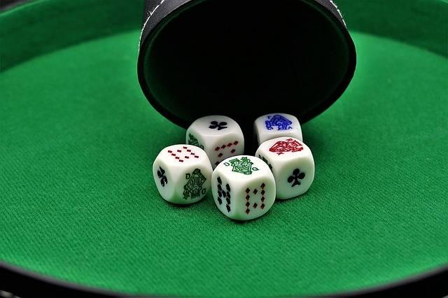 Poker Dice Gambling · Free photo on Pixabay (54376)