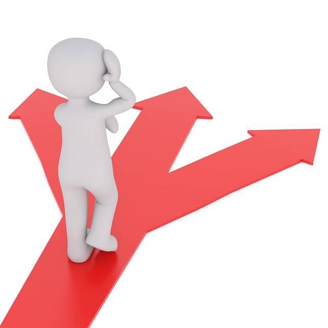 Direction Away Decision · Free image on Pixabay (55125)