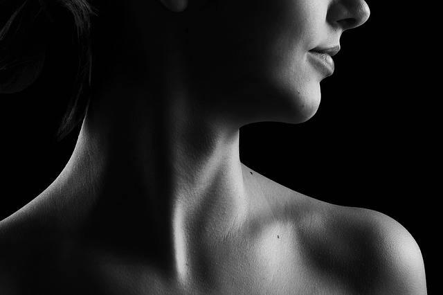 Neck Black And White Beauty · Free photo on Pixabay (55924)