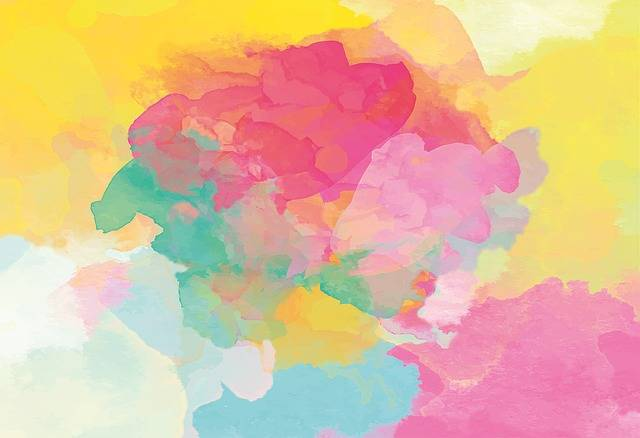 Watercolour Gradient Painting · Free image on Pixabay (56339)