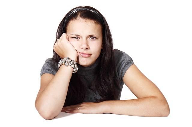 Bored Female Girl · Free photo on Pixabay (57545)
