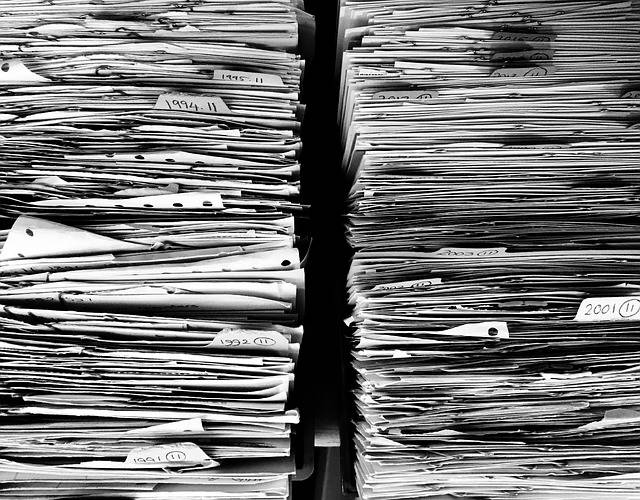 Files Paper Office · Free photo on Pixabay (58332)
