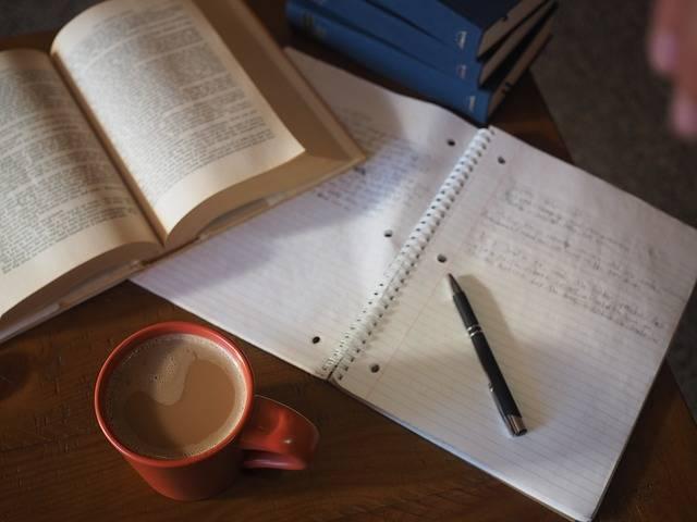 Coffee School Homework · Free photo on Pixabay (58496)