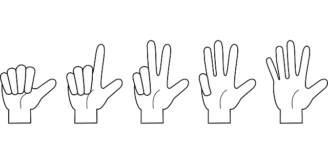 Hand Counting Fingers · Free vector graphic on Pixabay (58915)