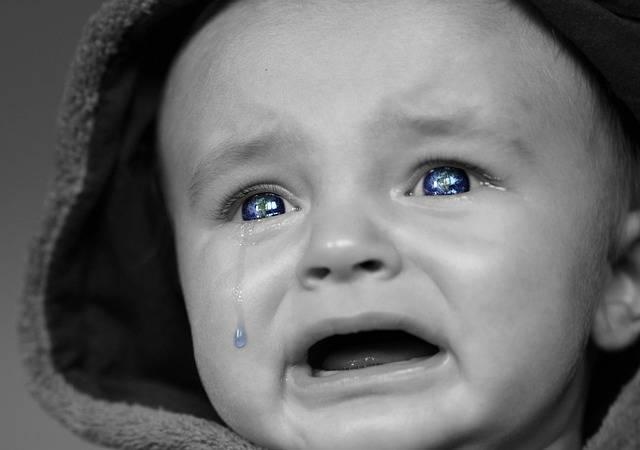 Crying Baby Face · Free photo on Pixabay (59534)