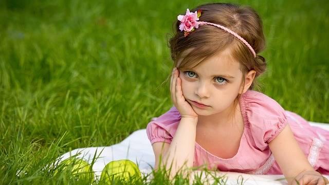 Girl Grass Nature · Free photo on Pixabay (59589)