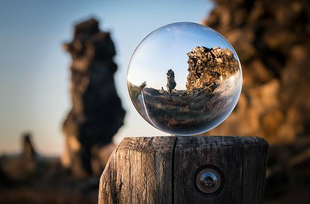 Glass Ball Devil'S Wall Creation · Free photo on Pixabay (61688)