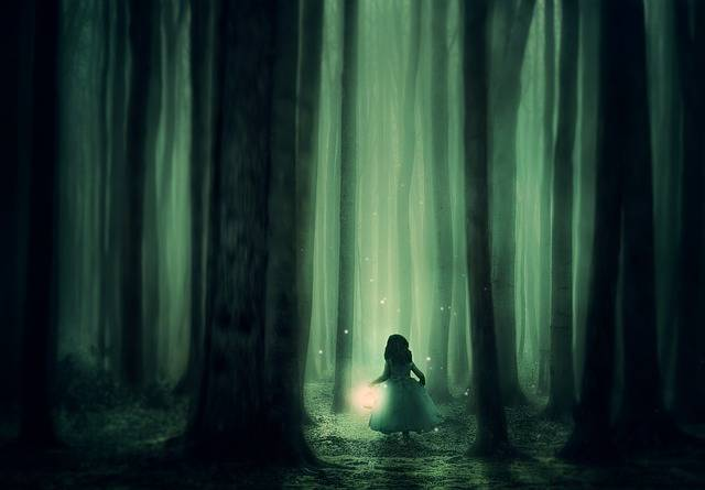 Forest Girl Trees · Free photo on Pixabay (62474)
