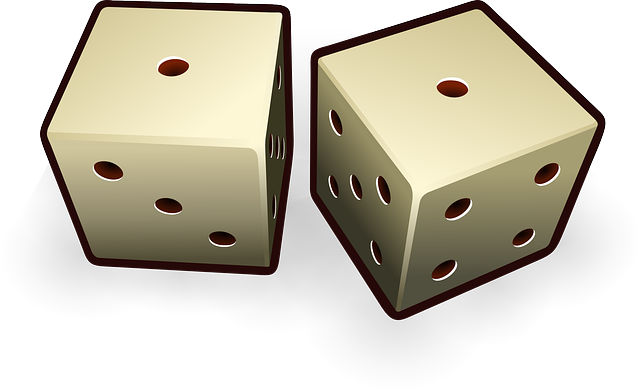 Dice Die Probability · Free vector graphic on Pixabay (63941)