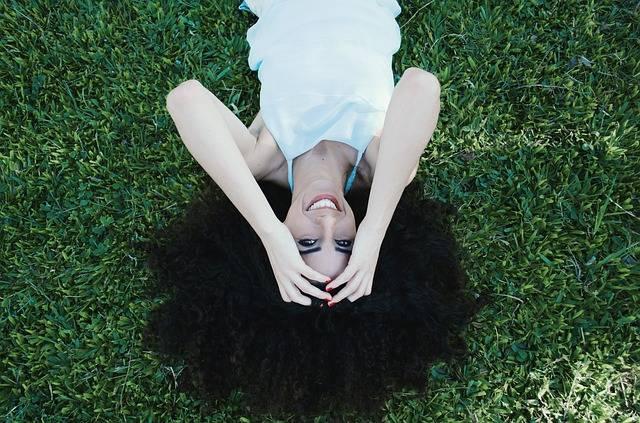 Woman Hairstyle Lying · Free photo on Pixabay (64693)