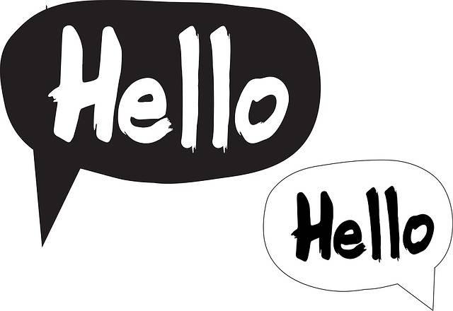 Speech Bubbles Hello Cartoon · Free image on Pixabay (67065)
