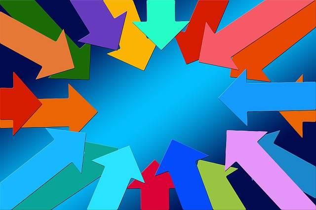 Arrows Center Inside · Free image on Pixabay (68487)