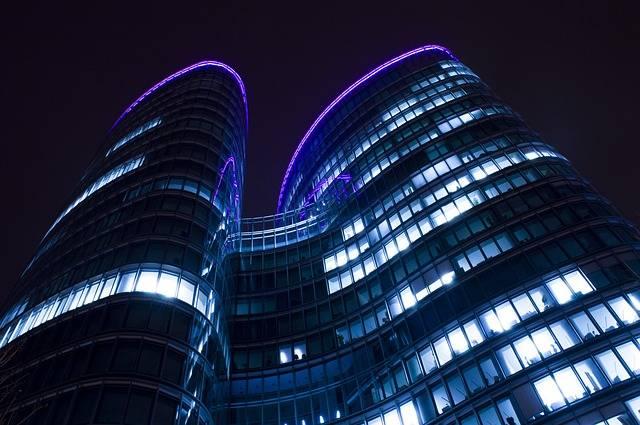 Towers Night Architecture · Free photo on Pixabay (68796)