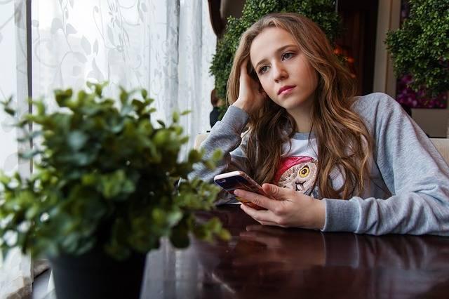 Girl Teen Café · Free photo on Pixabay (69707)