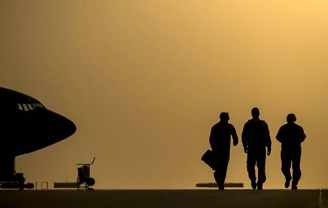 Pilots Airmen Silhouette · Free photo on Pixabay (70252)