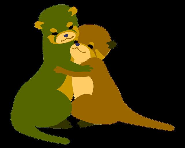 Otter Hugs Love · Free image on Pixabay (70441)