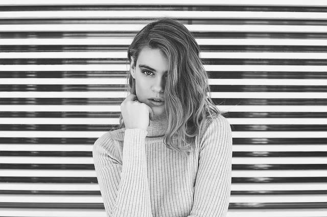 Woman Black White Portrait · Free photo on Pixabay (72620)