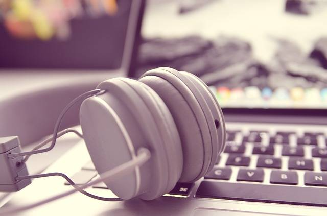 Notebook Laptop Headphones · Free photo on Pixabay (74819)