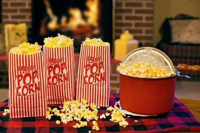 Popcorn Movie Time Snack · Free photo on Pixabay (76650)