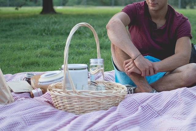 Picnic Man Basket · Free photo on Pixabay (76659)