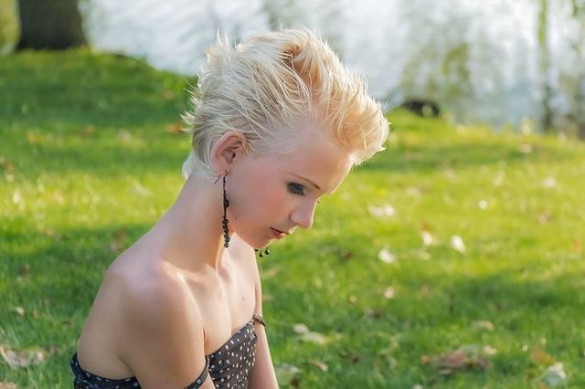 Profile Blonde Girl - Free photo on Pixabay (76934)