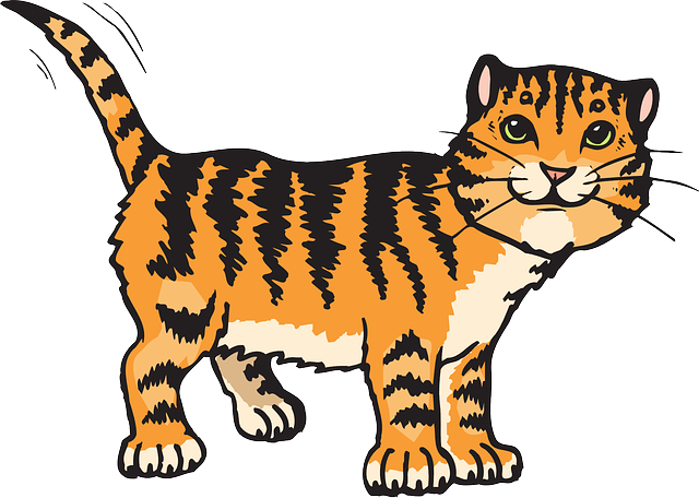 Cat Stripes Tiger - Free vector graphic on Pixabay (77011)