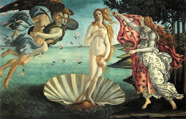 Painting La Nascita Di Venere - Free photo on Pixabay (79269)
