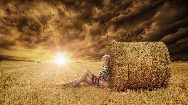 Woman Sitting Gazing - Free photo on Pixabay (81294)