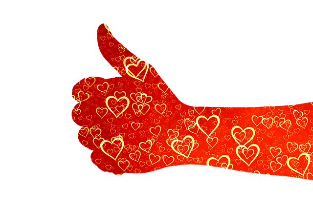 Like Thumb Heart - Free image on Pixabay (84008)