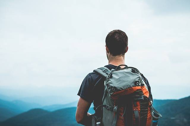 Hiker Backpacker Backpacking - Free photo on Pixabay (88410)