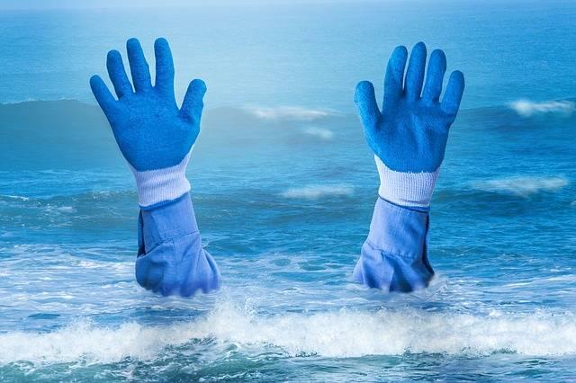 Hands Drowning Sea - Free photo on Pixabay (99253)
